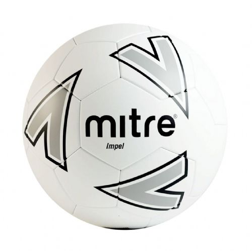 Mitre Impel Training Ball - White/Silver/Black